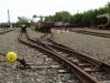 die Gleisanlagen für Loren
