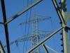 Blick zum anderen Strommast