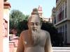 Skulptur am Lakshmi Narayan Mandir