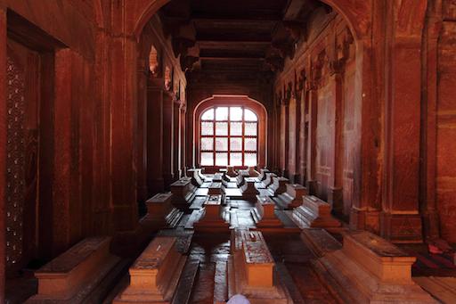 Nawab Islam Khan's Tomb in der Jama Masjid in Fathepur Sikri