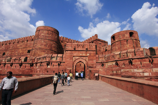 das Amar Singh Gate des Red Fort