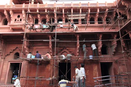 Restaurationsarbeiten