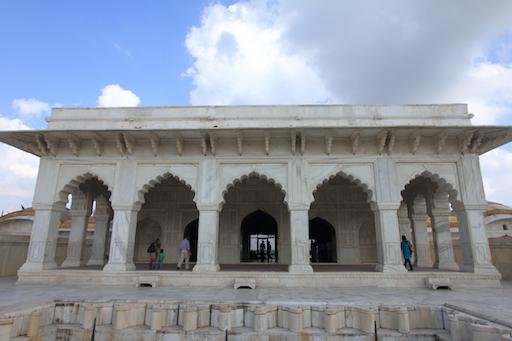 die private Audienzhalle (Diwan-i-Khas)