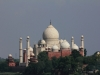 Blick zum Taj Mahal