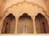 der Balkon des Shahs innerhalb der öffentlichen Audienzhalle (Diwan-i-Am)
