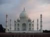 Taj Mahal bei Sonnenuntergang...