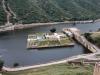Blick auf den Maota See und den Garten