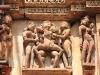 erotische Szene am Visvanatha Tempel