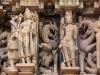 Skulptur am Devijagadambi Tempel