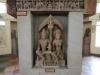 Skulptur des Gomeda und der Ambika