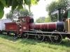 Dampflok B26 von 1870 der Oudh & Rohilkhund Railway (O&RR) im National Rail Museum