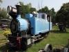 Dampflok Nr. 739 der Matheran Light Railway (MLR) von 1907 gebaut von Orenstein & Koppel, Deutschland