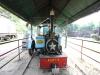 der Patiala State Monorail Train von 1907 gebaut von Orenstein & Koppel, Deutschland