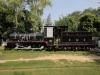 die erste vollständig in Indien gebaute Dampflok F734 von 1895 der Rajputana Malwa Railway (RMR)