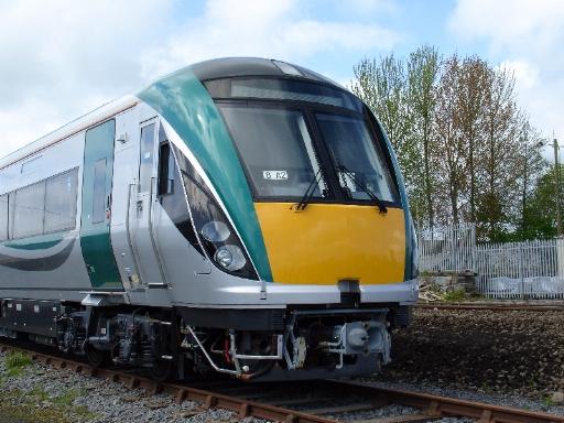 ein neuer InterCity-Triebzug