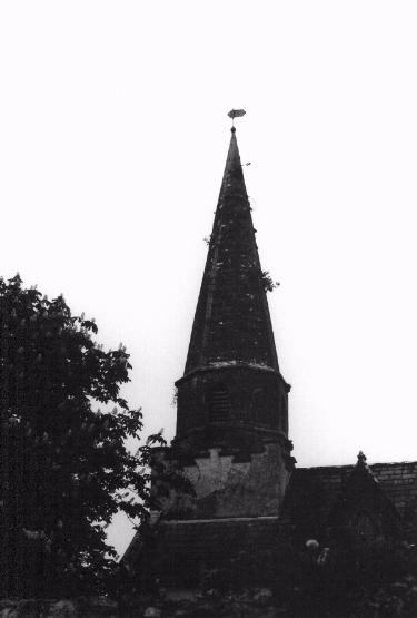 Steinkirche im Dorf