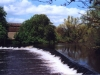 Cahir Castle liegt am Fluss Suir