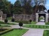der Garten vor dem Castle