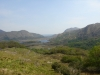 der Ausblick auf den Upper-Lake vom Ladies' View