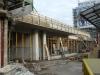 die neuen Anbauten am Ostflügel