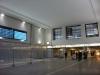 die geflieste und gestrichene Bahnhofshalle (Blick zur Bahnsteigunterführung)