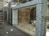 die Glasfassade, wo sich ehemals Kamps befunden hat