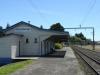 in Otorohanga hält der Overlander Train (Auckland - Wellington)
