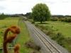 durch die Orchards fährt der Güterzug...