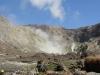 vor mir der dampfende Krater