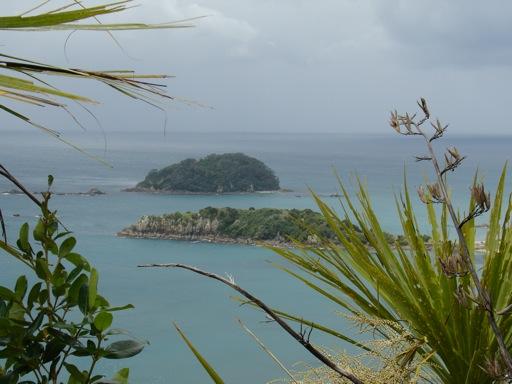 die vorgelagerten Inseln...