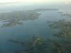 im Landeanflug auf Neuseeland