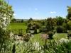 ein letzter Blick über den Garten