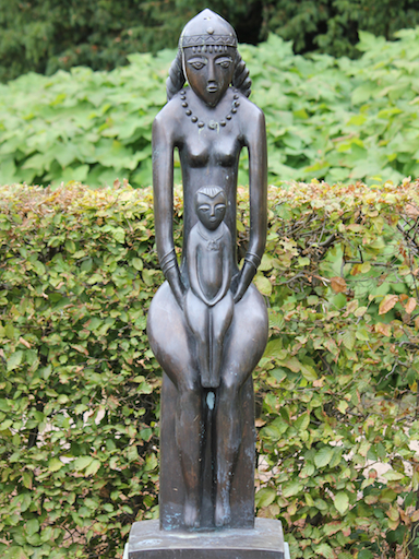 Madonna vom Don, Bildhauer: Sergey N. Oleshnya, Bronzeguss: Valery P. Tarasenko