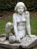 Still Allein (Quellennymphe), August Kranz, Marmor um 1930
