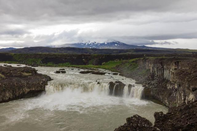 þjófafoss und Hekla