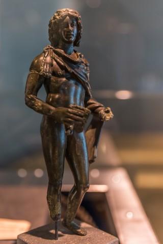 Bronzestatuette eines Satyr; 2. Jh. n. Chr.