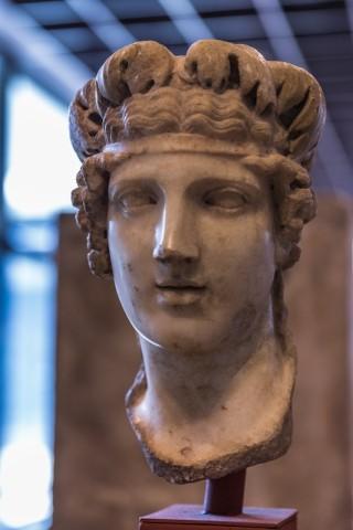 Marmorbild des Gottes Bacchus; 2. Jh. n. Chr.