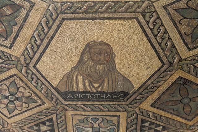 das Kölner Philosophen-Mosaik - Aristoteles