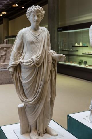 Toga-Statue Marc Aurel; 2. Jh. n. Chr.