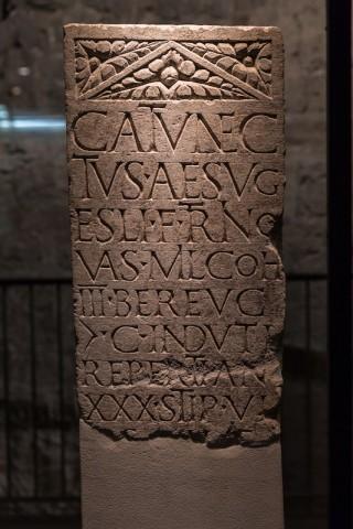 Grabinschrift für den Kelten Catunectus; 1. Jh. n. Chr.
