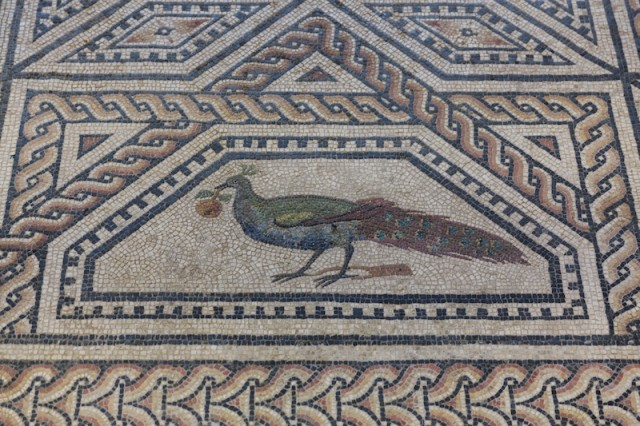 Dionysus-Mosaik (Detail)