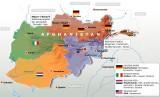 Kontrollierte Regionen in Afghanistan