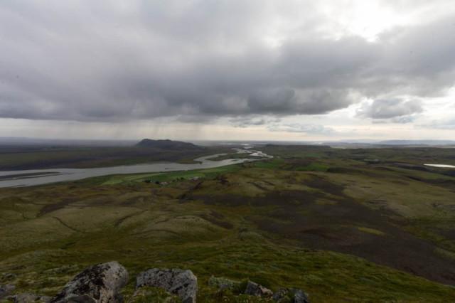 Ausblick über die Landschaft