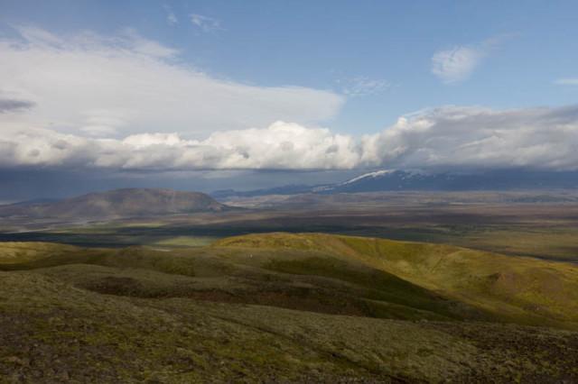 Ein Blick in Richtung Hekla