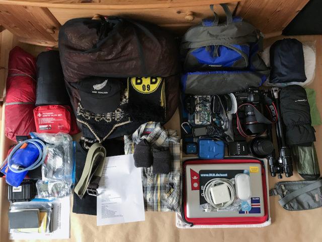 Meine Ausrüstung für Tansania