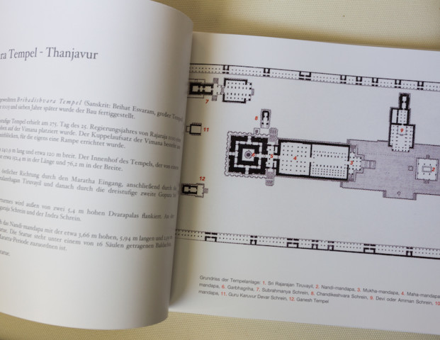 Grundriss des Tempels