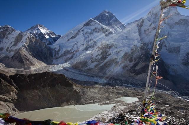Blick auf den Mt. Everest vom Kala Patthar (5.545 m)