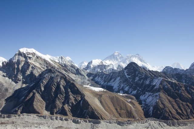 Blick in Richtung Mt. Everest