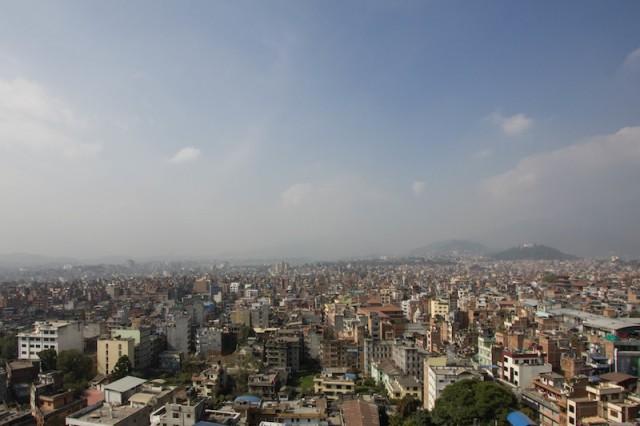 Blick vom Bimsen Tower
