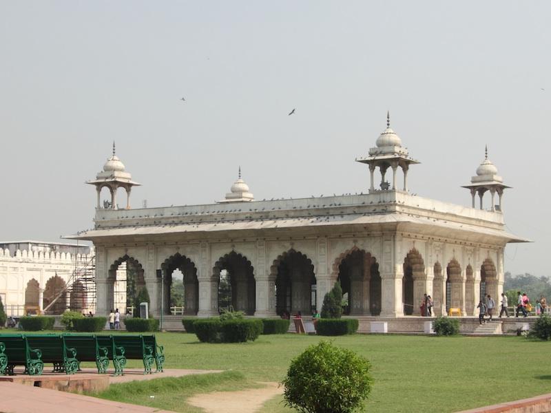 Blick zum Diwan-i-Khas
